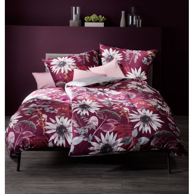 FLEURESSE Wende-Bettwäsche Mako-Satin FLOWERS bed art S...